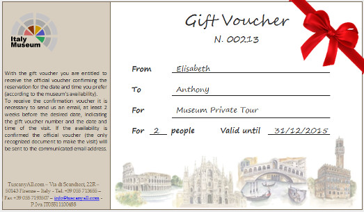 Gift Voucher - Doge's Palace, Venice Pass, Tickets and Tours...